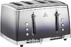 Complete Kitchen Set Ombre Kettle Toaster Microwave Oven Bread Bin Canisters NEW