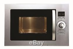 Cookology BMOG25LIXH Built-in Combi Microwave Oven & Grill Stainless Steel 25L