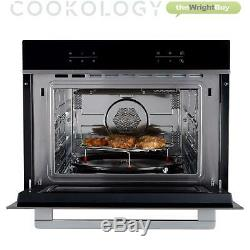 Cookology TCMO450SS 44L Compact Oven And Microwave, 3350W