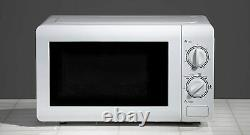 Daewoo 20L 800W 6 Power Levels Manual Stainless Steel Microwave SDA2075 -New