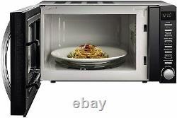 De'Longhi Brilliante 4-slot Toaster & Jug Kettle Set Microwave VYTRONIX BLACK