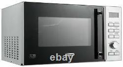 De'Longhi D90D 900-950W 25L Combination Microwave Stainless Steel