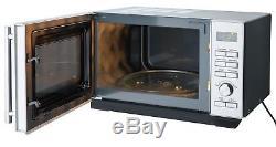 De'Longhi P90D 900W 25L Standard Microwave Stainless Steel