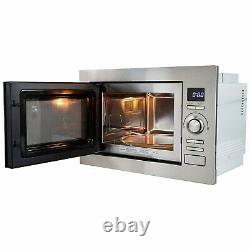 ElectriQ 25L 900W Stainless Steel Microwave With Grill