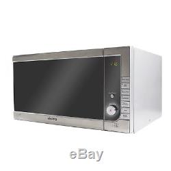 ElectriQ 40L 1000W Freestanding Combination Microwave Oven with 8 Programmes
