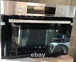 Ex-Display-Bosch CMA585GS0B Serie 6 Built In Microwave Oven With Hot Air RRP£749