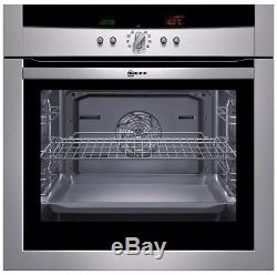 Ex Display Neff B15P42N0GB Electric Multifunction Built In Single Oven Black