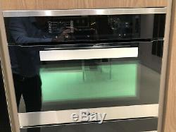 Ex-display Miele H6200BM PureLine Built-In Combination Microwave Oven, Clean St