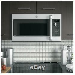 GE CVM1790SSS Café Series 1.7 Cu. Ft. Convection Over-the-Range Microwave Oven