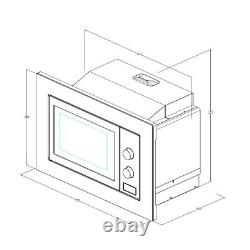 GRADED Cookology IM17LSS Built-in Microwave in Stainless Steel