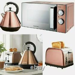 Goodman's Copper Microwave, Diamond Kettle, 2 Slice Toaster SET