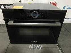 Graded Bosch CMG633BB1B Built-in Black Compact Oven with microwave 13033