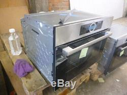 Graded Bosch CMG633BS1B 60cm Compact Oven Combi Microwave (B-19100) RRP £1039