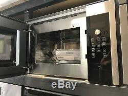 Graded Siemens iQ500 25l Built-in Microwave-Stainless Steel/Black Serial 874653