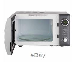 Grey Microwave Kettle Toaster Set 800W 4 Slice Fast Boil New Kitchen Deal 20L