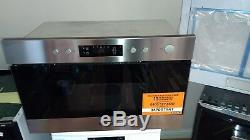 HOTPOINT MN 314 IX H Built-in Microwave with Grill Stainless Steel RRP £248.00
