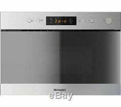 HOTPOINT MN 314 IX H Integrated Built-in Microwave with Grill, RRP £259