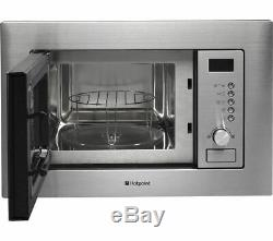 HOTPOINT MWH 122.1 X Built-in Microwave with Grill Stainless Steel Currys