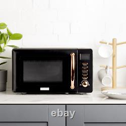 Haden Black & Copper 20ltr Microwave 197061