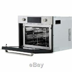 Hoover HMC440 PX Built-in Combi Microwave, Fan Oven & Grill Stainless Steel