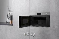 Hotpoint Class 3 MN314IXH Stainless Steel 22L 700W Integrated Microwave & Grill