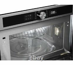 Hotpoint Class 4 MD 454 IX H Built-in Microwave With Grill Stainless Steel 1000w