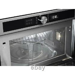 Hotpoint MD454IXH Built-in Stainless Steel Microwave & Grill + 1 Year Warranty