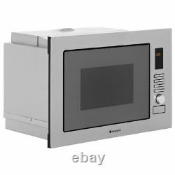 Hotpoint MWH122.1X 800W Built-In Microwave Oven Stainless Steel