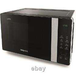 Hotpoint MWHF203B Xtraspace Flatbed 20L Microwave Oven With Grill Black