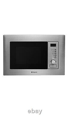 Hotpoint Newstyle MWH222.1X Built In Microwave With Grill Stainless Steel
