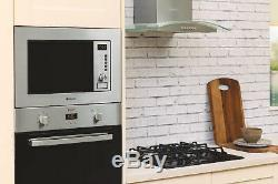 Hotpoint Newstyle MWH 122.1X Built-in Microwave Grill 60cm 1200W Stainless Steel