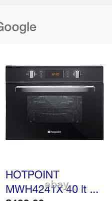 Hotpoint Ultima MWH424.1X Built-In Combination Microwave, Stainless Steel