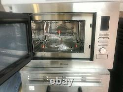 INDESIT MWI 222.1 X 25L Built in Combination Microwave Oven Stainless Steel