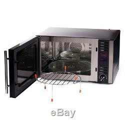 Igenix IG2590 Combination Microwave Oven, 25 Litre Black