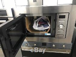 Indesit Aria MWI122.2X 20L 800W Integrated Microwave Stainless Steel