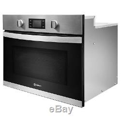 Indesit MWI3443IX 900W 40L Built-in Microwave Oven And Grill Stainle MWI3443IX