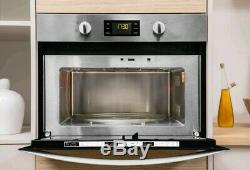 Indesit MWI3443IX 900W 40L Built-in Microwave Oven And Grill Stainless Steel