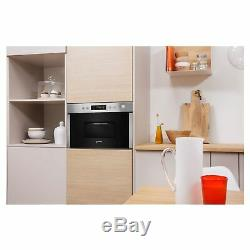 Indesit MWI5213IX 22L 750W Built-In Microwave with Grill in Stainless Steel