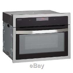 John Lewis JLBIMW02 Built-In Microwave, Black (M84)