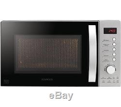 KENWOOD K20MSS15 Solo Microwave Stainless Steel 800 W 20 litres 8 Auto Programs