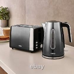 Kitchen 3 Piece Set Tower Ombre Collection Jug Kettle Toaster and Microwave SALE