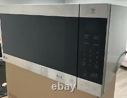 LG 2.0 Cu. Ft. NeoChef Countertop Microwave Stainless Steel LMC2075ST Easy Clean