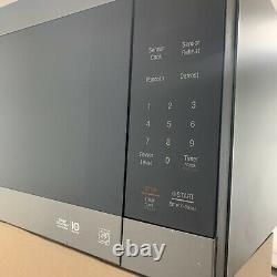 LG Black Stainless Steel 2.0 cu. Ft. Countertop Microwave EasyClean LMC2075BD