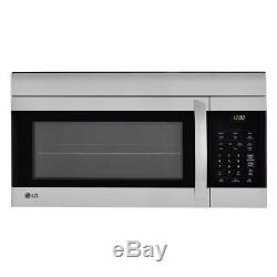 LG Electronics 1.7 cu. Ft. Over the Range Microwave Oven in Stainless Steel