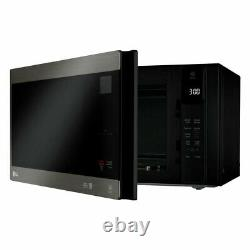 LG NeoChef Black Stainless Steel 1.5 Cubic Ft. Microwave (Refurbished)