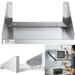 MICROWAVE SHELF STAND 24 X 18 Stainless Steel Wall Mount Commercial Restaurant