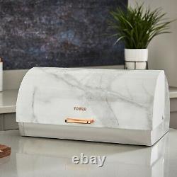 Marble Rose Gold Kettle Toaster Microwave BreadBin Canisters Mug Tree Towel Pole