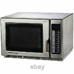Menumaster Large Capacity Microwave RFS518TS Manual 1.8kW 13A 34L