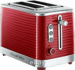 Microwave Kettle Toaster Set RHMM701R Russel Hobbs Sale Cheap Buy Red Gift
