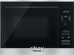 Miele M6022SC 800W Microwave With Grill Stainless Steel, RRP-£750.00 3044
